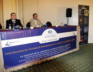 Sofratev Maroc certifiée ISO 9001