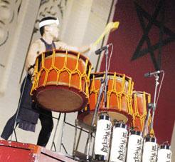 Le pèlerinage des tambours japonais
