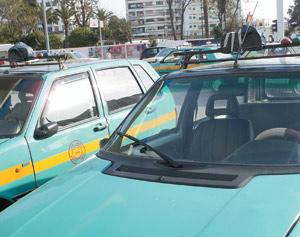 La grogne des chauffeurs de taxis