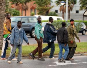 Nouveaux assauts des clandestins subsahariens