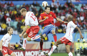 Groupe (H) : l'Espagne peut prendre son élan face au Honduras