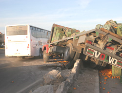 Accidents : Nouvelle déroute à Meknès