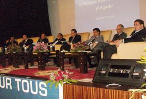 Le MTD rencontre l'élite de la capitale du Souss