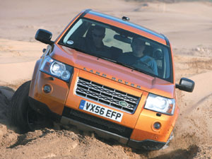 Land Rover Freelander II : des capacités hors normes