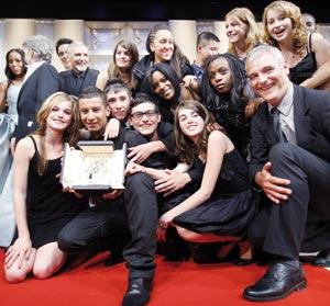 Palmarès du Festival de Cannes 2008 : Palme d'or pour le film français «Entre les murs»