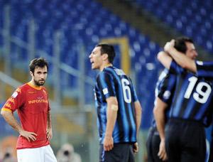 Coupe d'Italie : L'Inter a déjà un pied en finale grâce à Stankovic