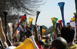 L'UEFA interdit les vuvuzelas dans ses compétitions