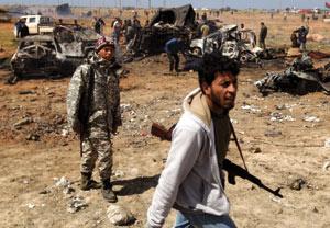 Libye : Les rebelles reprennent espoir