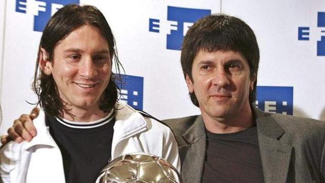 Football: le père de Messi rembourse 5 millions d'Euros au Fisc