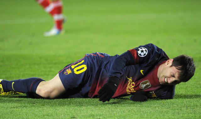 Championnat d'Espagne: Messi blessé à la cuisse
