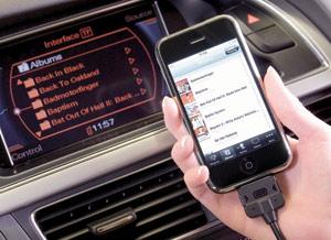 High-tech : Gamme Audi : Un système audio- téléphone compatible avec l'iPhone