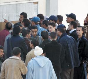 4500 emplois pour les Marocains en 2008