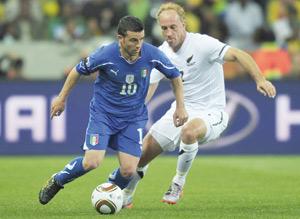 Groupe F : les Italiens au pied du mur face à la Slovaquie