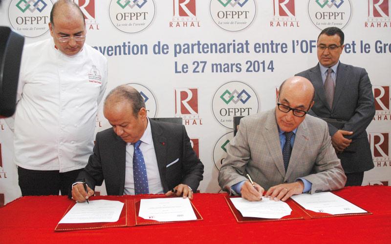 L'OFPPT et le Groupe Rahal  échangent leur expertise