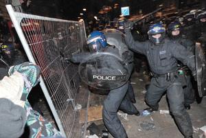 Londres : Violentes émeutes à Tottenham