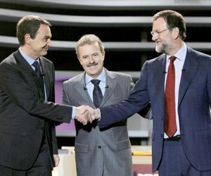 L'optimisme de José Luis Zapatero gagne face au catastrophisme de Mariano Rajoy