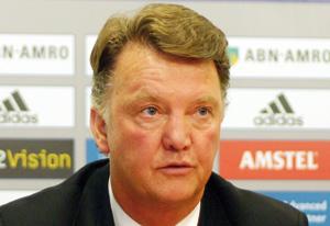 Van Gaal confiant de garder tous ses joueurs