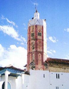 Un minaret octogonal pour appeler à la prière