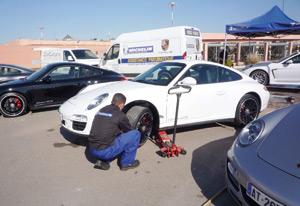 Michelin Maroc aux petits soins de la Porsche 911 GTS