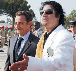 France : Lune de miel en perspective entre Sarkozy et Kadhafi