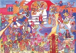 Lagzouli traduit en couleurs les contes et les proverbes marocains