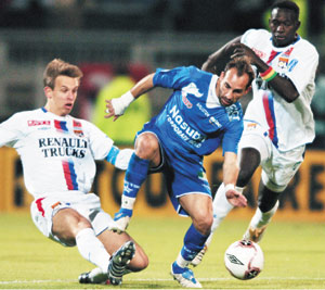 C1 : Lyon en quart de finale