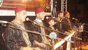 Lever de rideau du Festival du madih et samaâ à Oujda