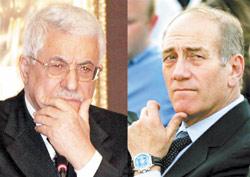 Olmert-Abbas autour d'un petit déjeuner