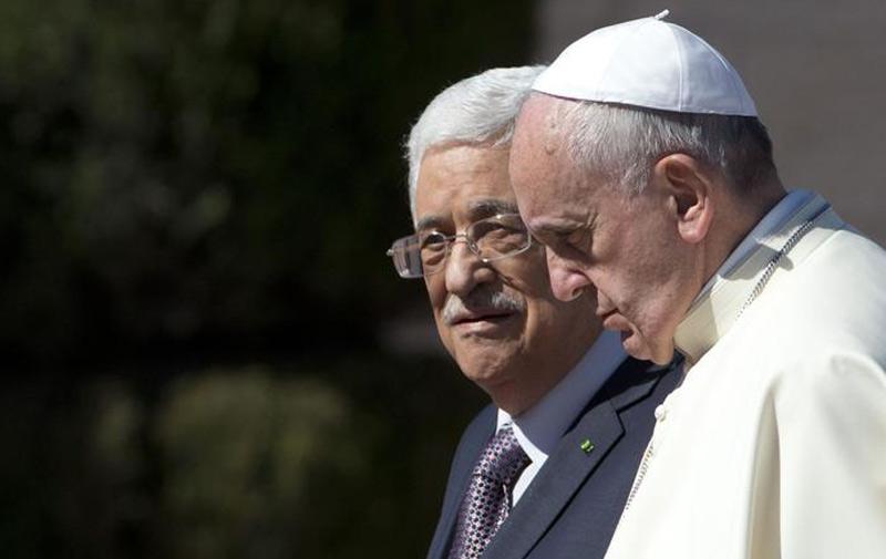 Officiel, le Vatican reconnait l'Etat palestinien