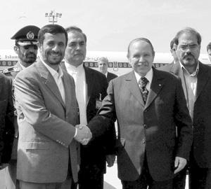 Maghreb : Le président iranien en visite à Alger