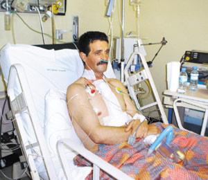 AMO : premier malade pris en charge