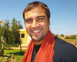 Majid Lakroun, un jeune acteur en quête d'un premier rôle
