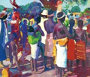 Des tableaux «d'exception» de Jacques Majorelle à Marrakech