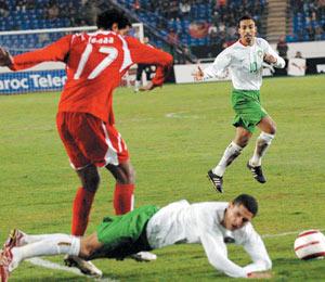 Football : La Namibie s'incline face au Maroc