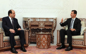 Irak-Syrie : Al-Maliki à Damas après plus d'un an de brouille