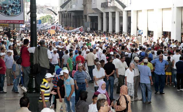 Manifestation à Rabat contre la hausse des prix des produits pétroliers