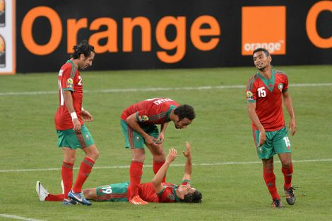 CHAN-2014: Les lions éliminés par le Nigéria en quart de final