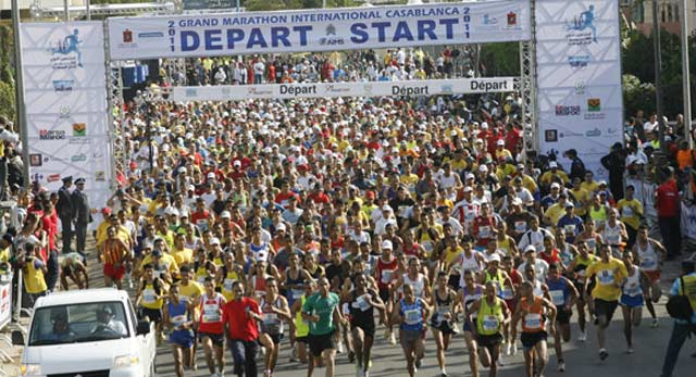 Le 5è marathon international de Casablanca, le 21 octobre avec des top runners marocains