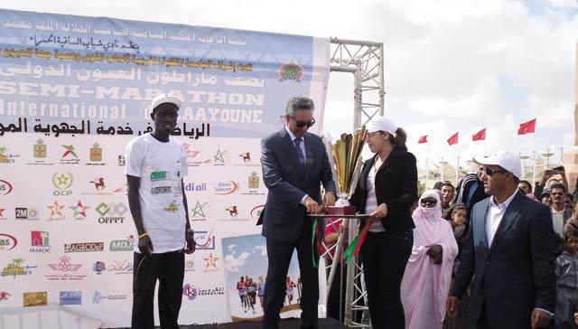 Semi-marathon international de Laâyoune : Les Kenyans dominent la 14ème édition