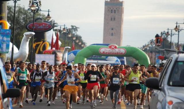 Marathon de Marrakech: Une matinée sans voiture  le 26 janvier