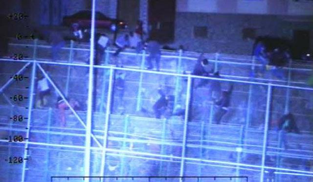 Melilia: passage en force de 300 migrants en situation irrégulière