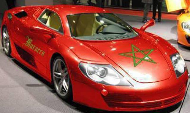 Ferrari au Maroc