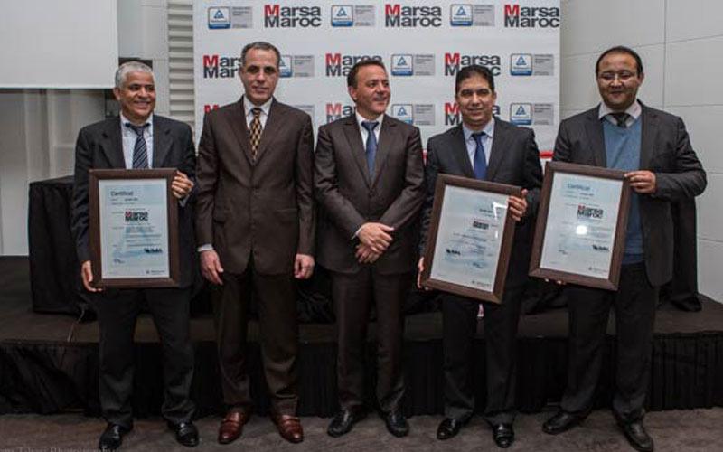 Certification Qualité et Environnement: Nouvelle distinction pour Marsa Maroc