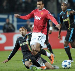 Marseille préserve un peu d'espoir contre Manchester