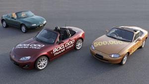 Mazda MX-5 : Une nouvelle page dans le Guinness Book