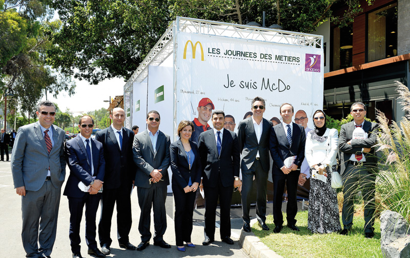 Recrutement: McDonald's Maroc sollicite l'Anapec