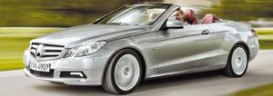 Mercedes Classe E Cabrio : toile d'étoile sous la belle étoile