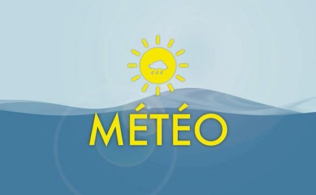 Hauteurs de pluie relevées en millimètres par la Direction de la Météorologie nationale