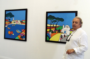 Hervé Metterie dévoile ses oeuvres inspirées du Maroc