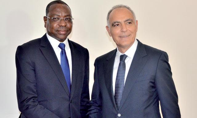 Mezouar reçu à  Dakar par le président sénégalais
